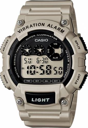 imagine 1 Ceas barbatesc CASIO Mod. - W-735H-8A2 - Bej rasina Quartz wwtw-735h-8a2