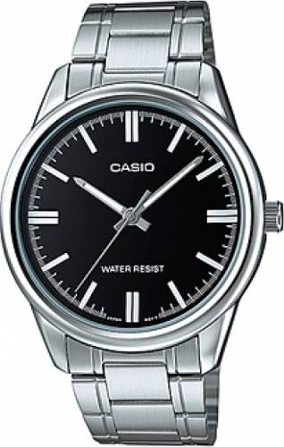 imagine 1 Ceas barbatesc Casio MTPV005D1 Argintiu Otel Quartz wwtmtp-v005d-1