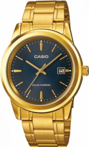 imagine 1 Ceas barbatesc Casio MTPVS01G2A Auriu Otel Quartz wwtmtp-vs01g-2a