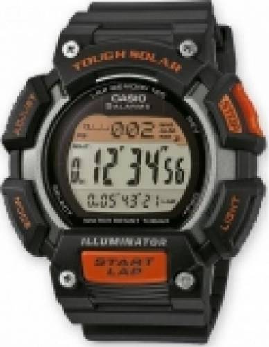 imagine 0 Ceas Barbatesc Casio Sports STL-S110H-1A Negru stl-s110h-1a