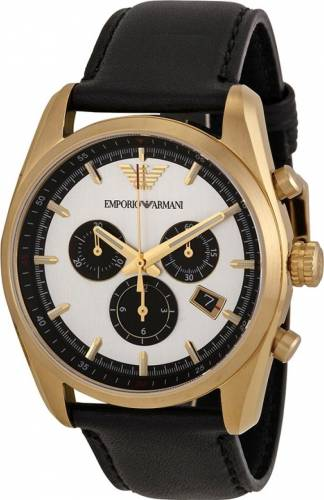 imagine 0 Ceas Barbatesc Emporio Armani AR6006 Black-Gold AR6006