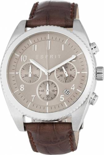 imagine 0 Ceas Barbatesc Esprit ES107581003 Silver-Brown ES107581003