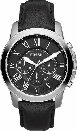 imagine 0 Ceas Barbatesc Fossil FS4812IE Grant Black bsw_FS4812IE