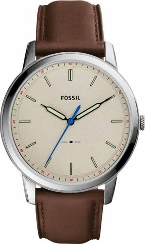 imagine 0 Ceas Barbatesc Fossil FS5306 The Minimalist Silver-Brown bsw_FS5306