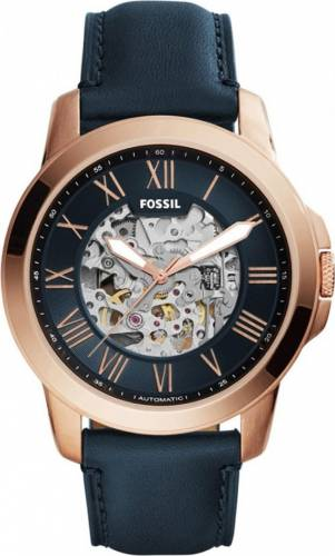 imagine 0 Ceas Barbatesc Fossil ME3102 Grant Gold Navy bsw_ME3102