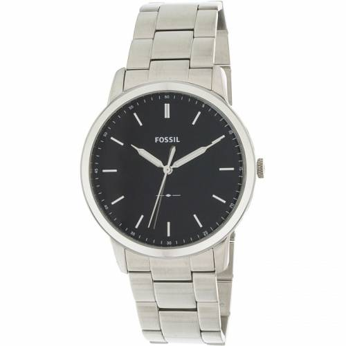 imagine 1 Ceas barbatesc Fossil The Minimalist argintiu Stainless-Steel Quartz FS5307 arefs5307