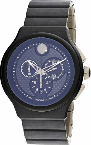 imagine 1 Ceas barbatesc Movado Parlee 0606929 Negru Titan Quartz are0606929