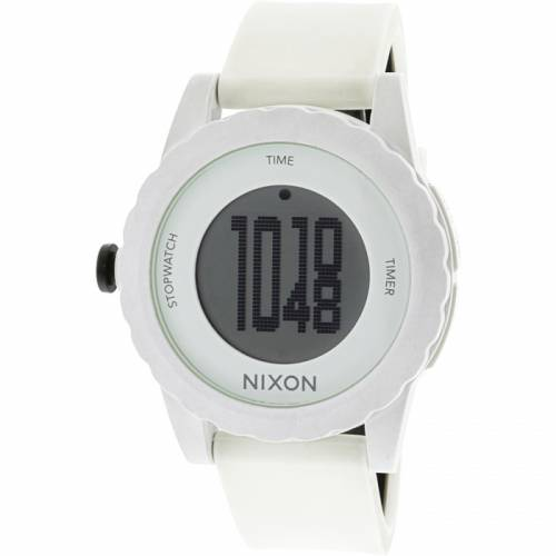 imagine 1 Ceas barbatesc Nixon Genie - A326100 - Alb poliuretan Quartz area326100