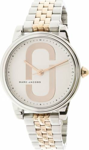 imagine 1 Ceas dama Marc Jacobs Corie MJ3561 Argintiu Auriu Otel Quartz aremj3561