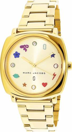 imagine 1 Ceas dama Marc Jacobs Mandy MJ3549 Auriu Otel Quartz aremj3549