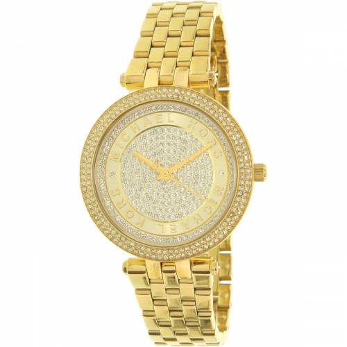 imagine 1 Ceas dama Michael Kors Mini Darci MK3445 Auriu Otel Quartz aremk3445