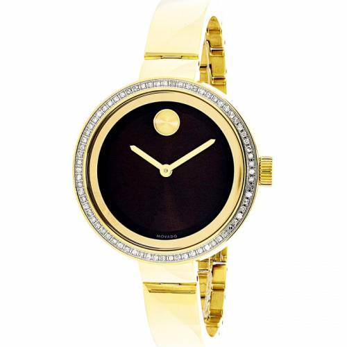 imagine 1 Ceas dama Movado Bold 3600282 Auriu Otel Quartz are3600282