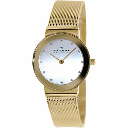 imagine 1 Ceas dama Skagen 358SGGD Auriu Otel Quartz are358sggd