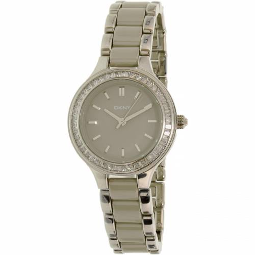 imagine 1 Ceas Dkny dama Chambers NY2466 gri Stainless-Steel Quartz areny2466