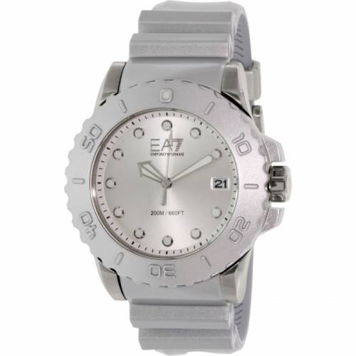 imagine 1 Ceas Emporio Armani barbatesc AR6085 argintiu Resin Quartz arear6085