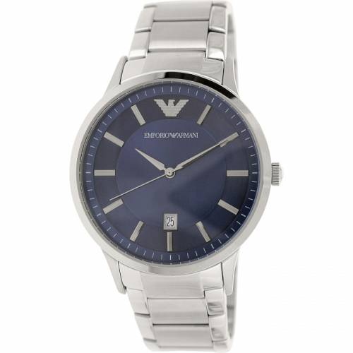 imagine 1 Ceas Emporio Armani barbatesc Classic AR2477 argintiu Stainless-Steel Analog Quartz arear2477