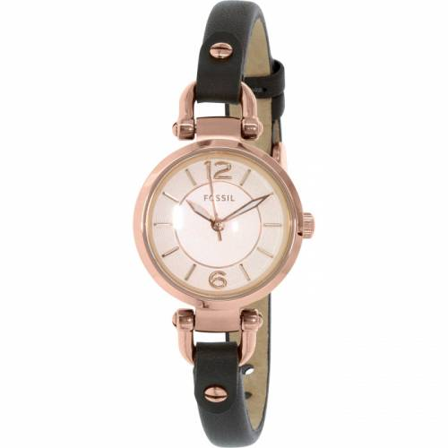 imagine 1 Ceas Fossil dama ES3862 auriu roze auriu Leather Quartz arees3862