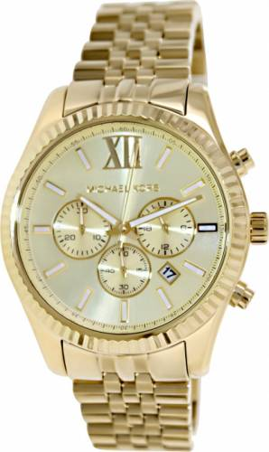 imagine 1 Ceas Michael Kors barbatesc Lexington MK8281 auriu Stainless-Steel Quartz aremk8281