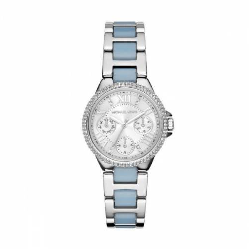 imagine 1 Ceas Michael Kors dama Camille MK4306 argintiu Stainless-Steel Quartz aremk4306