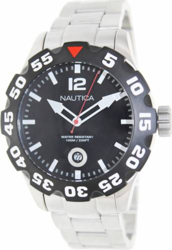 imagine 1 Ceas Nautica barbatesc Bfd 100 N18622G argintiu Quartz aren18622g