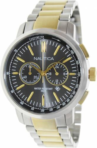 imagine 1 Ceas Nautica barbatesc Nct 800 N23601G argintiu Quartz aren23601g