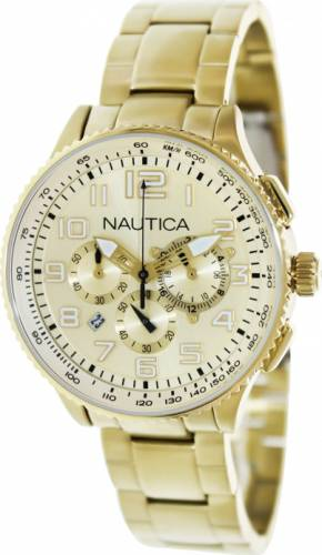 imagine 1 Ceas Nautica dama Ocn 38 N26533M auriu Quartz aren26533m