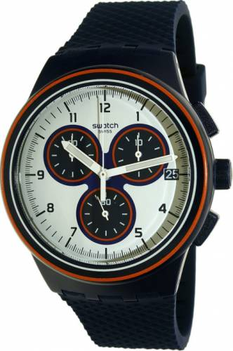 imagine 1 Ceas Swatch barbatesc Originals SUSN412 albastru Rubber Quartz aresusn412
