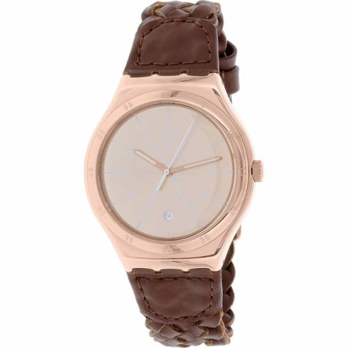 imagine 1 Ceas Swatch barbatesc YWG402 maro Quartz areywg402