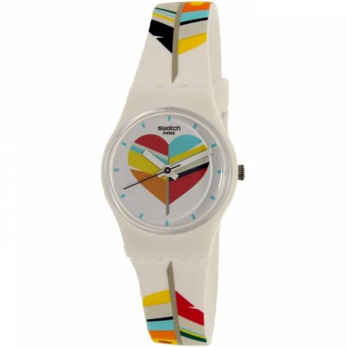 imagine 1 Ceas Swatch dama Es War Zeimal LW151 multicolor Rubber Quartz arelw151