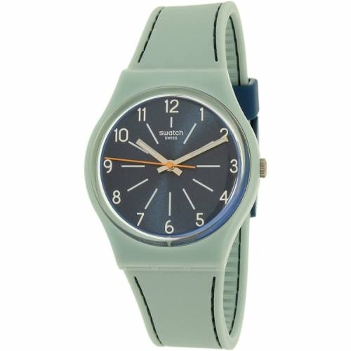 imagine 1 Ceas Swatch dama Gent GM184 albastru Silicone Swiss Quartz aregm184