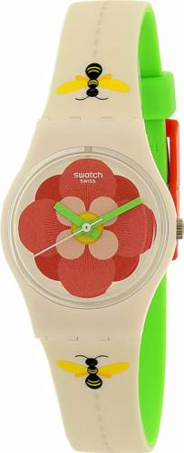 imagine 1 Ceas Swatch dama Lady LM140 bej Silicone Swiss Quartz arelm140