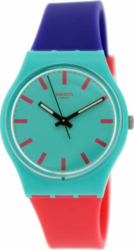 imagine 1 Ceas Swatch dama Originals GG215 multicolor Silicone Swiss Quartz aregg215