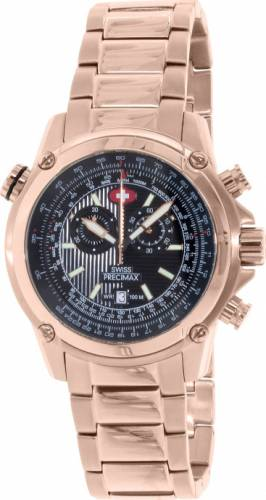 imagine 1 Ceas Swiss Precimax barbatesc Squadron Pro SP13079 auriu Quartz aresp13079