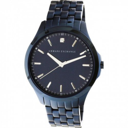 imagine 0 Ceas barbatesc Armani Exchange AX2184 Albastru Otel Quartz areax2184