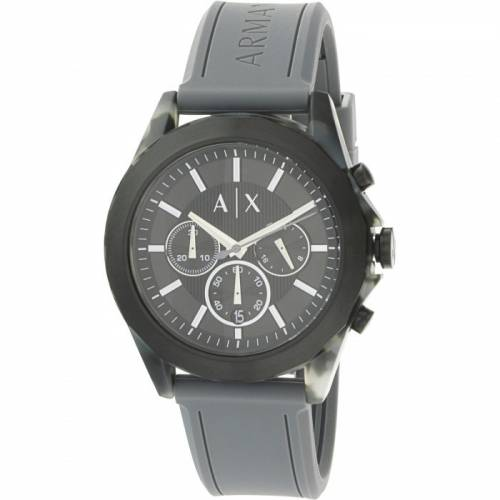 imagine 0 Ceas barbatesc Armani Exchange AX2609 Negru Silicon Quartz areax2609