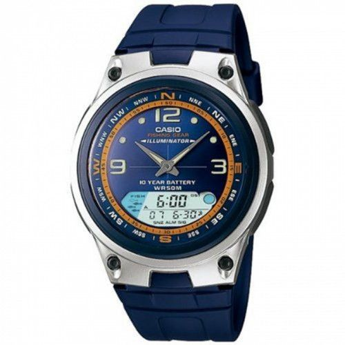 imagine 0 Ceas barbatesc Casio AW82-2AV Albastru Plastic Quartz areaw82-2av