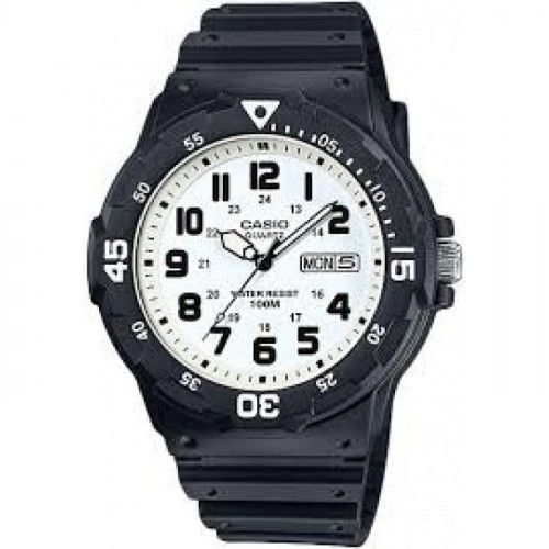 imagine 0 Ceas barbatesc Casio MRW200H7B Negru Rasina Quartz wwtmrw-200h-7b