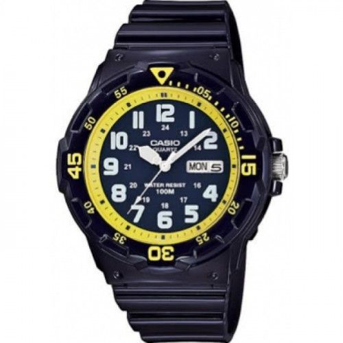 imagine 0 Ceas barbatesc Casio MRW200HC2 Negru Rasina Quartz wwtmrw-200hc-2