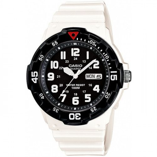 imagine 0 Ceas barbatesc Casio MRW200HC7 Alb Rasina Quartz wwtmrw-200hc-7