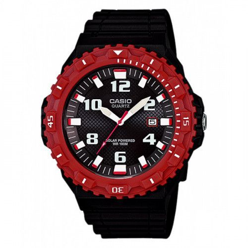 imagine 0 Ceas barbatesc Casio MRWS300H4 Negru Rasina Quartz wwtmrw-s300h-4