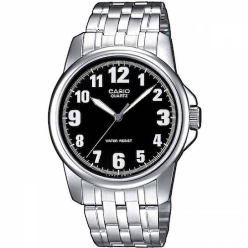 imagine 0 Ceas barbatesc Casio MTP1260PD1B Argintiu Otel Quartz wwtmtp-1260pd-1b