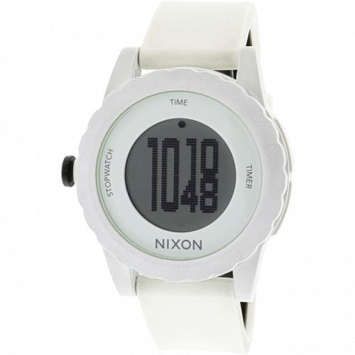 imagine 0 Ceas barbatesc Nixon Genie - A326100 - Alb poliuretan Quartz area326100