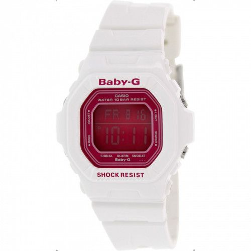 imagine 0 Ceas Casio dama Baby-G BG5601-7 alb Resin Quartz arebg5601-7