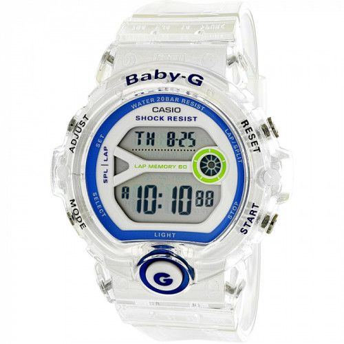 imagine 0 Ceas Casio dama Baby G BG6903-7D alb Rubber Quartz arebg6903-7d