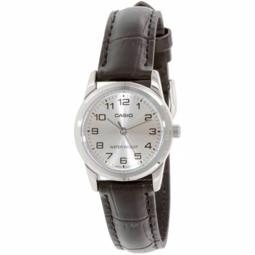 imagine 0 Ceas Casio dama LTPV001L-7B negru Leather Quartz areltpv001l-7b