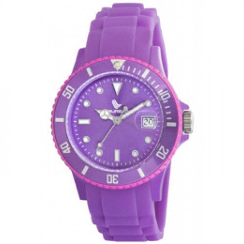 imagine 0 Ceas dama LAURENS SPORT SUBMARINER DATE - LS 27019II - violet silicon Quartz wwtls 27019ii