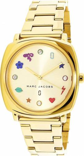 imagine 0 Ceas dama Marc Jacobs Mandy MJ3549 Auriu Otel Quartz aremj3549