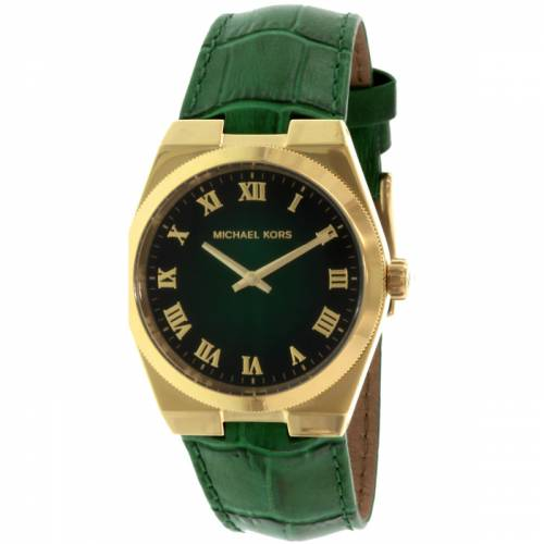 imagine 0 Ceas dama Michael Kors Channing MK2356 Verde Piele Quartz aremk2356