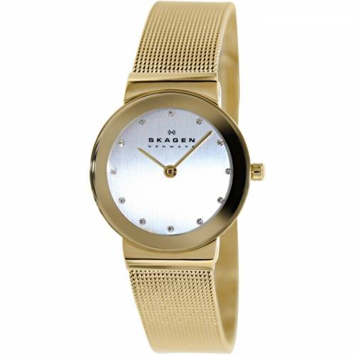 imagine 0 Ceas dama Skagen 358SGGD Auriu Otel Quartz are358sggd