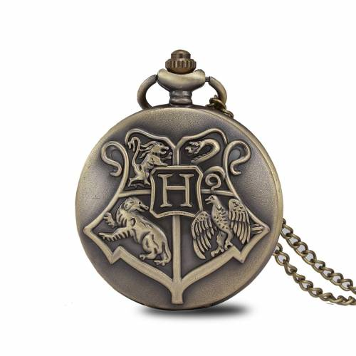 imagine 0 Ceas de buzunar Harry-Potter Hogwarts School model Retro Vintage. cs583 cs583